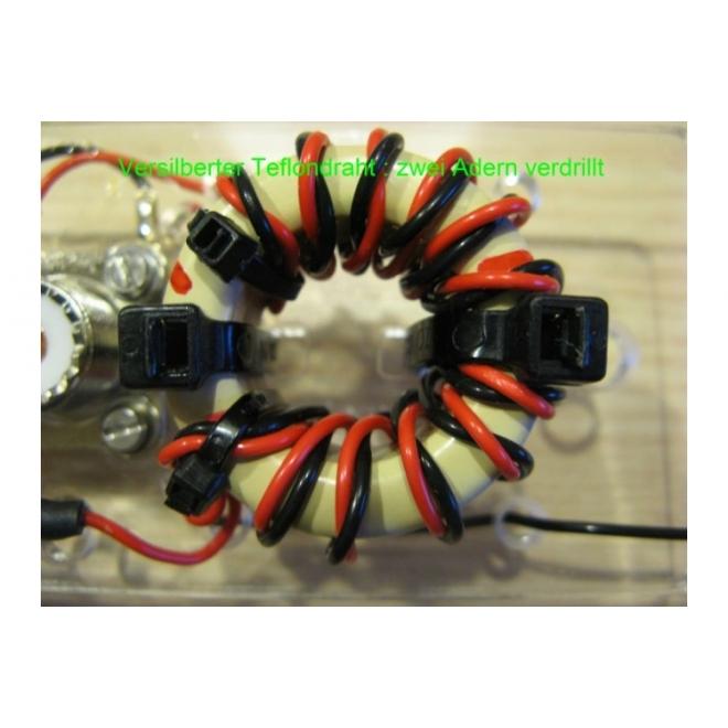 PTFE (Teflon®) Draht verdrillt 2 x 0,75mm2