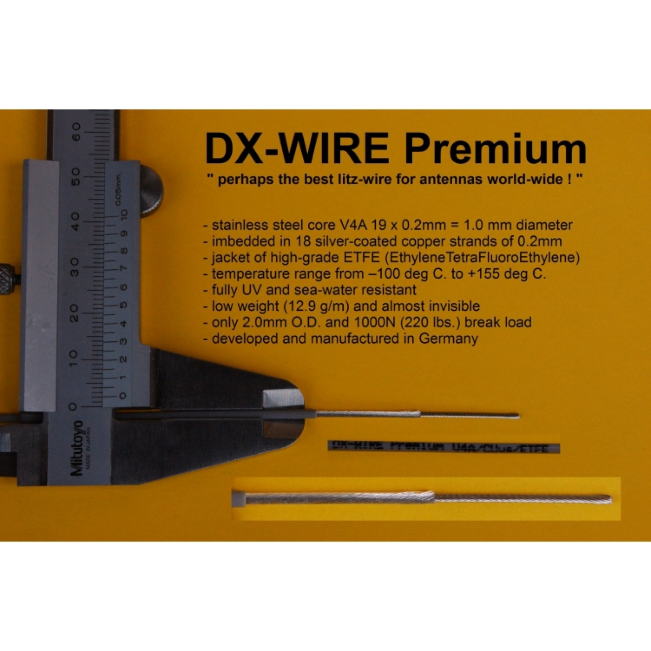 DX-WIRE Premium Meterware